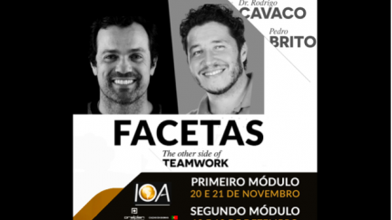 "FACETAS ""The Other side of Teamwork"" com o Dr Rodrigo Cavaco e o TPD Pedro Brito"
