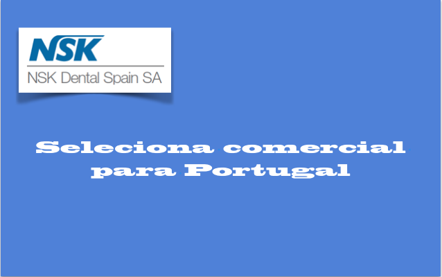 NSK Dental Spain SA — Recrutamento Comercial