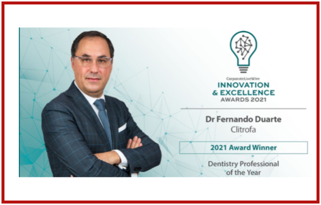 International Innovation & Excellence Awards 2021- Personalidade do Ano
