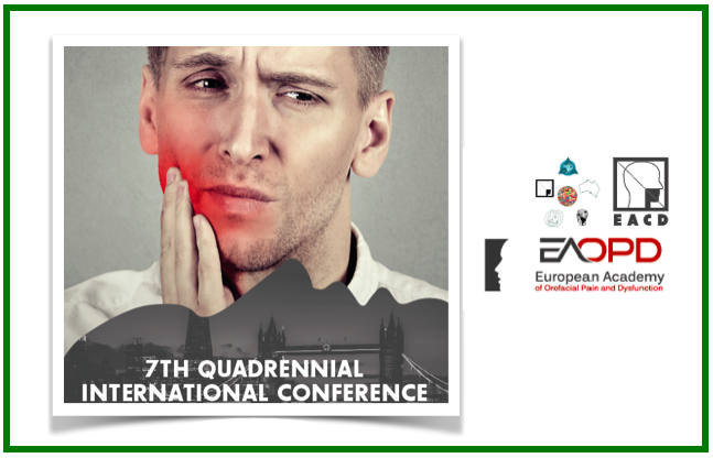 7th Quadrennial International Conference — Últimos dados sobre dor orofacial
